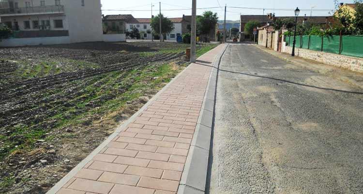 Mejora de urbanización de viales C/Arzobispo Baltasar Moscoso y C/Pontón 1de la Oliva