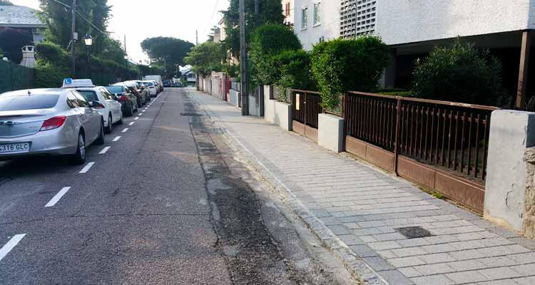 Obras de adecuación y reposición de pavimentos de zonas urbanas del Escorial fase IV