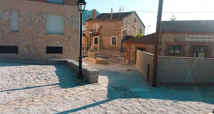 Obras de recuperación y acondicionamiento de la Fuente del Berro y su entorno es Bustarviejo1