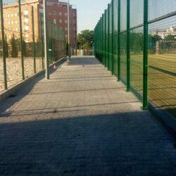 Finalizadas las obras de acondicionamiento de pavimentación y caseta almacén en el complejo deportivo San Miguel