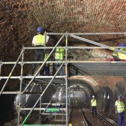 Obras de mejora de la linea 1 de metro de Madrid